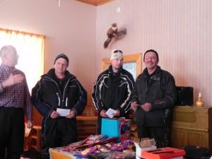 Tord Nordin, Ove Åström och Kenneth Strömberg